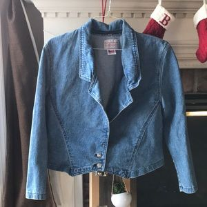 Vintage Sundance USA denim 2 button jean jacket M